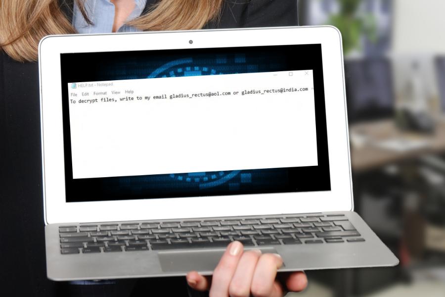 Cesar ransomware – new creation of Dharma virus snapshot