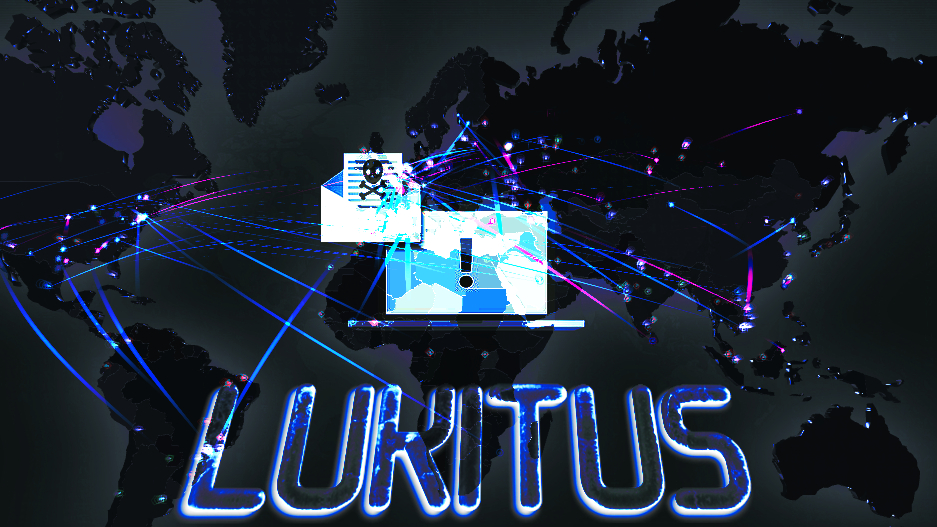 Lukitus virus rampages on a global scale