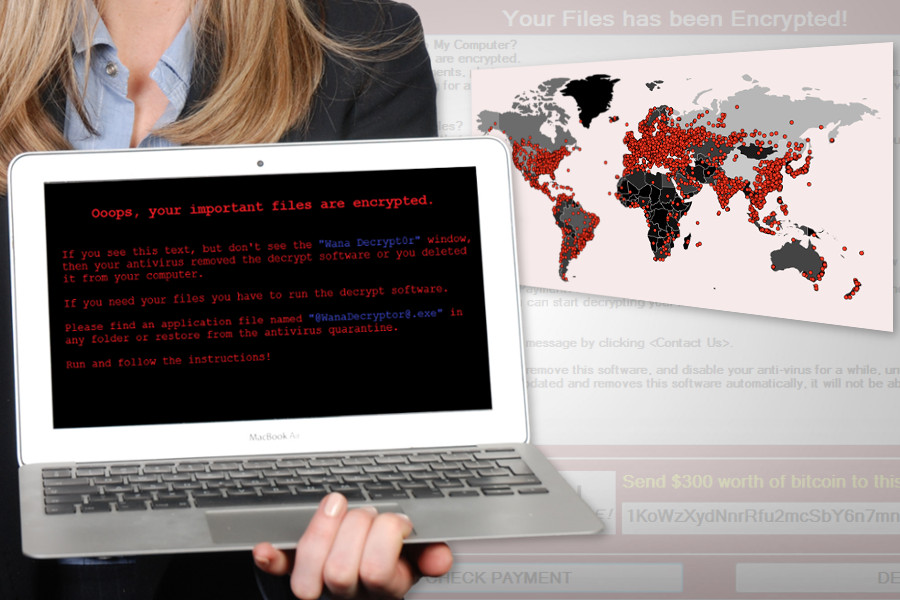 WannaCry ransomware launches massive worldwide attacks