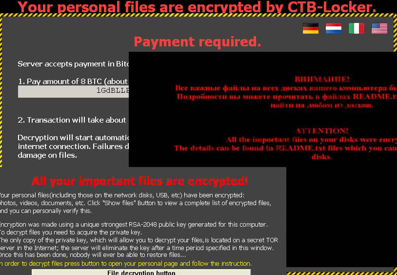 Ransomware becomes the most popular type of virus snapshot