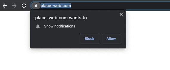 The domain shows pop-ups that trigger redirects, to keep visitors from closing the browser