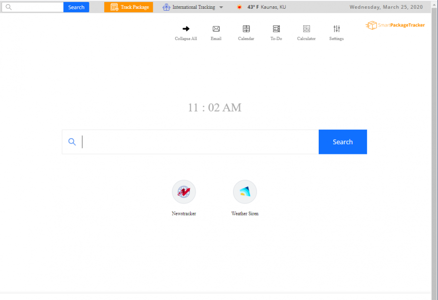 The app completes changes on the browser's engine, homepage, and new tab bar