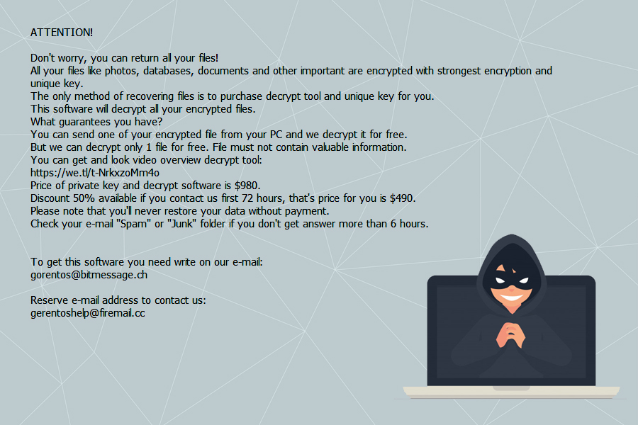 Virus activity notice: newest versions of Djvu ransomware with .kvag and .meds markers snapshot