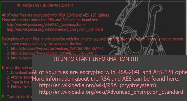 Aesir and Osiris ransomware viruses join Locky family