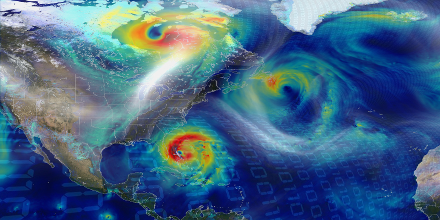 Hurricane Matthew reduces the spread of cyber infections