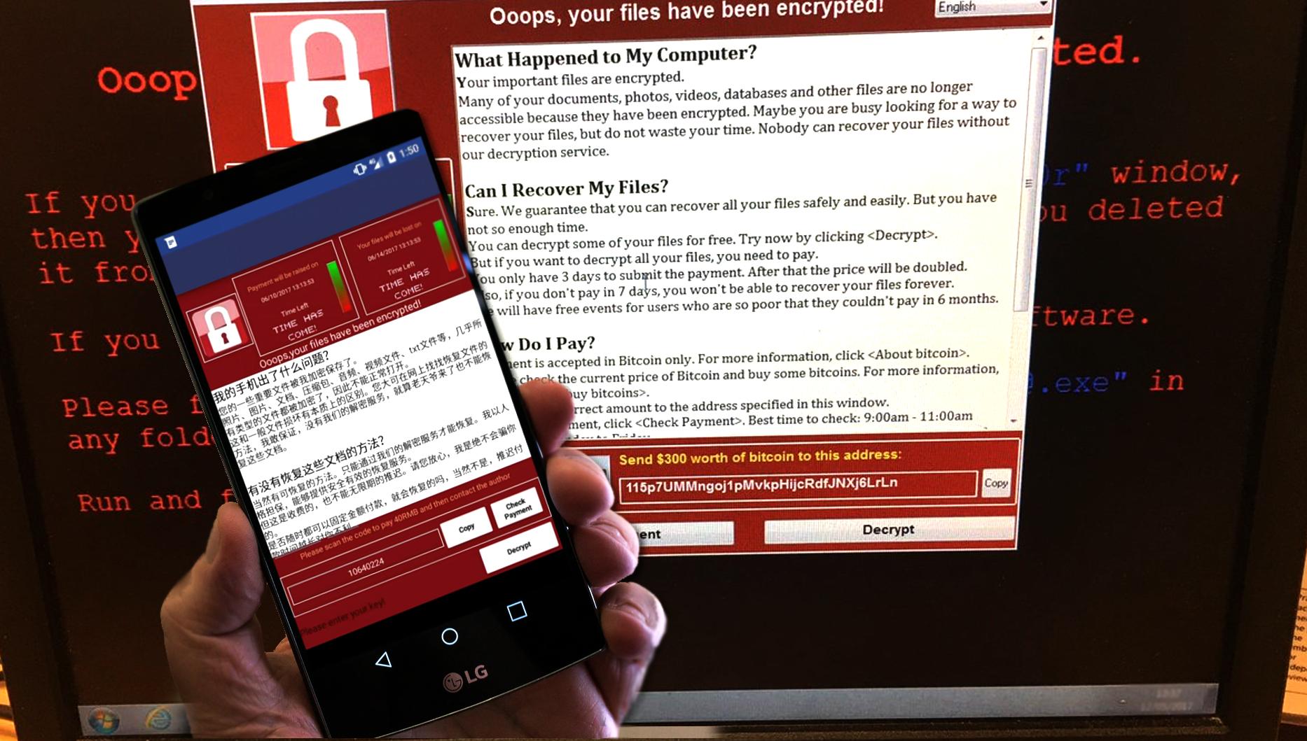 More WannaCry victims expected as WannaCry 3.0 and WannaLocker emerge snapshot
